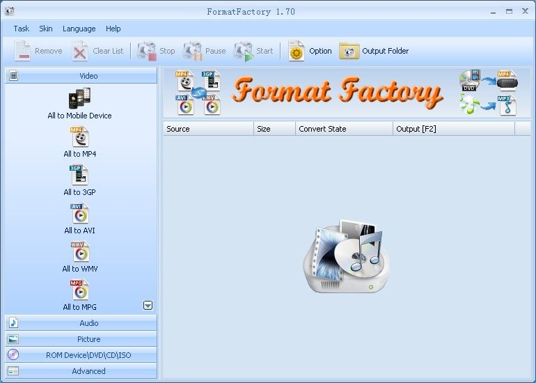 download format factory portable