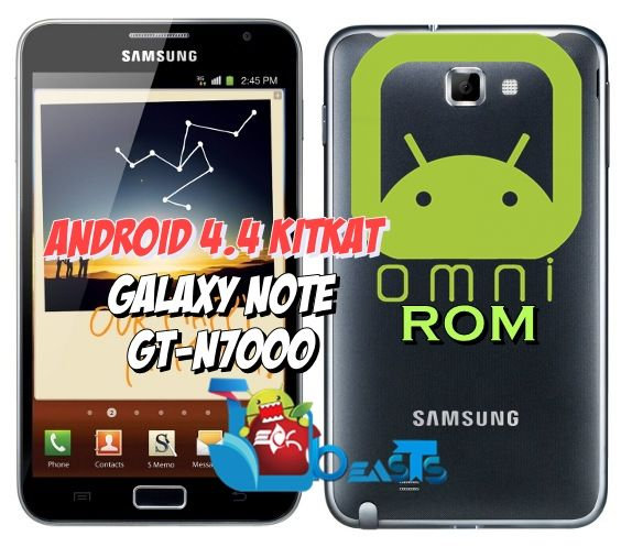 Install Android 4 4 KitKat OmniROM on Samsung Galaxy Note GT