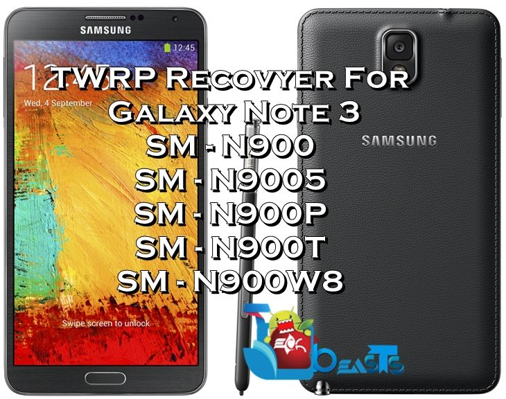 Install TWRP Recovery on Samsung Galaxy Note 3