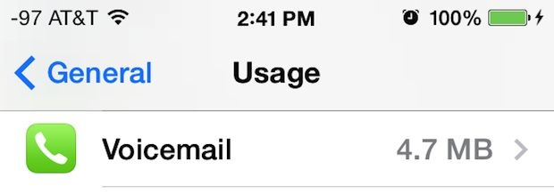 voicemail-storage-usage-iphone