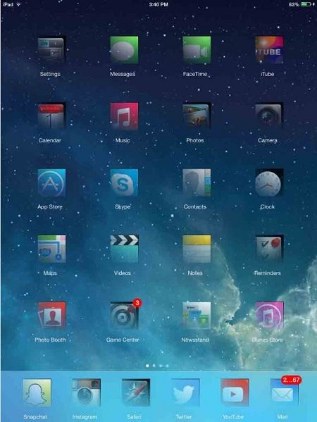 Ghost-for-iPad-theme