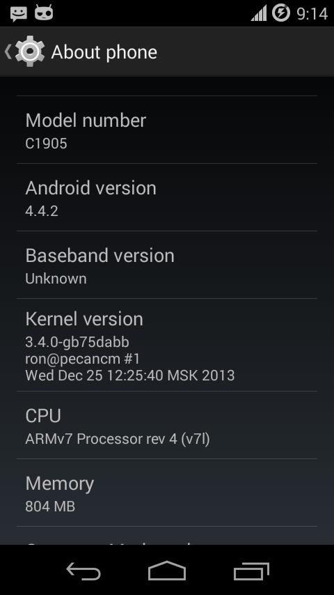Install Android 4 4 2 KitKat on Sony Xperia M with CyanogenMod 11