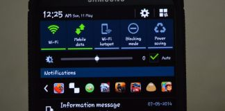 add app shortcuts in your notification bar on Android