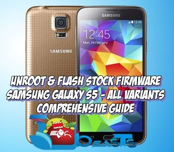 Unroot-GalaxyS5-StockFirmwrae