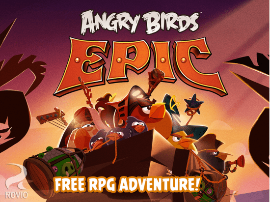 angry birds epic apk for andorid