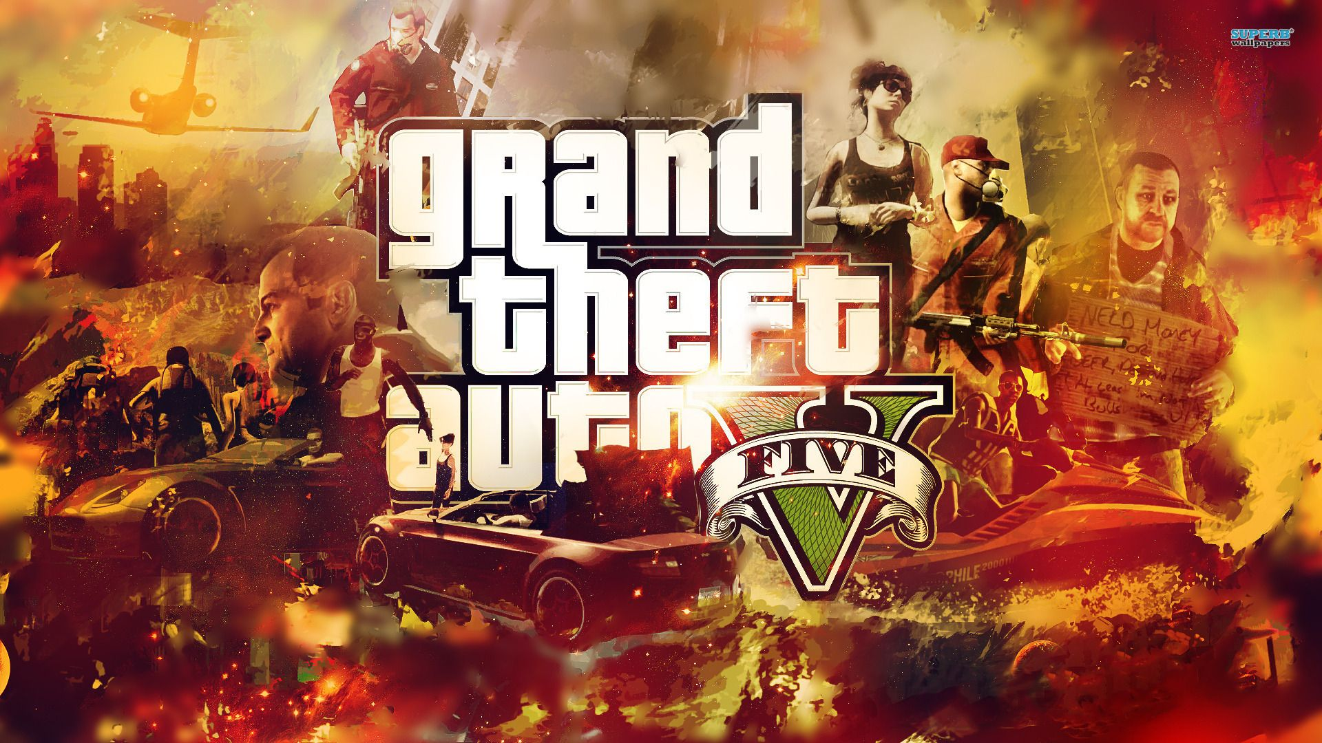 Gta 5 Hd Wide Wallpapers For Your Desktop