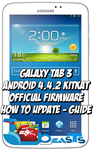 Update Samsung Galaxy Tab 3 SM-T211 with Official Android