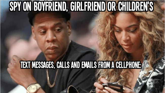 spy on boyfriend, girlfriend and childrens email, calls, text and photos from a cellphone