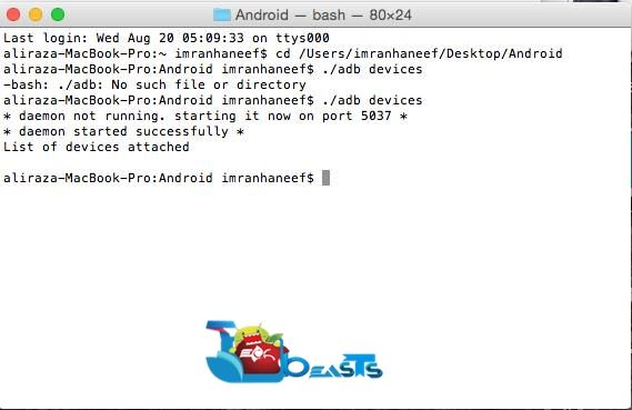 How to install Android ADB and Fastboot drivers on a MAC [Guide]