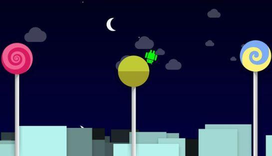 Google has Hidden a Game in Lollipop
