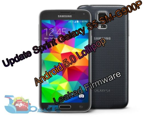 Update Sprint Galaxy S5 SM-G900P to Android 5.0 Lollipop Leaked Firmware