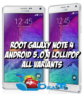 Root Galaxy Note 4 Running Android 5 0 1 Lollipop