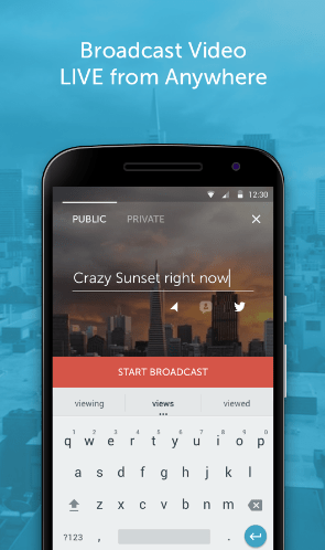 Periscope v1.0 Apk - Twitter Streaming App finally on Android