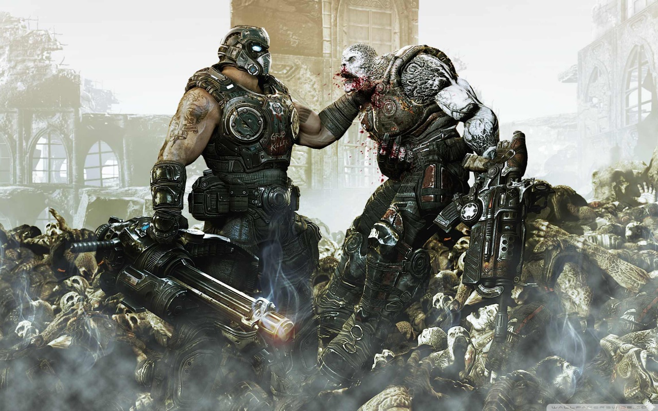 Download Gears Of War 4 Hd Wallpapers For Desktop And Mobile