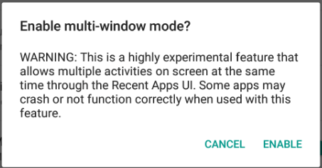 multie window android marshmallow