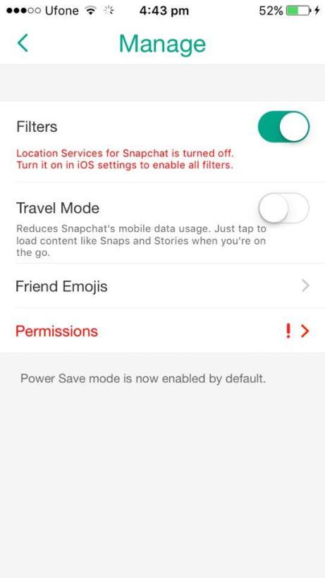 hidden snapchat features