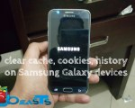 Clear Cache, Cookies and History on Samsung Galaxy