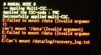 How To Fix Failed To Mount Data (Invalid Argument)