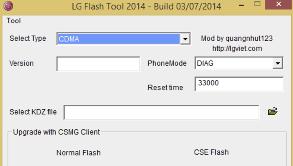 Download KDZ TOT LG FlashTool for LG Phones [All Versions]
