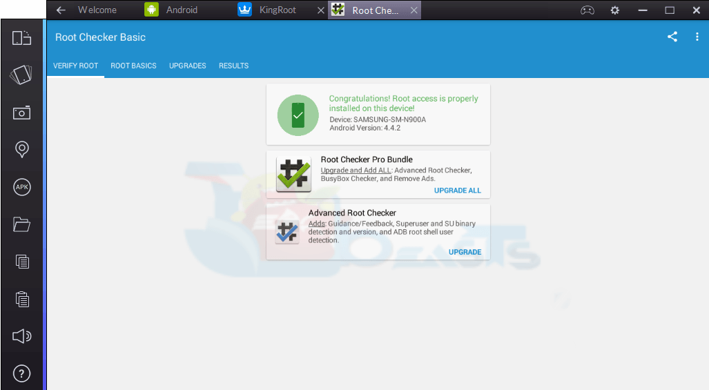 bluestacks app player rooted download