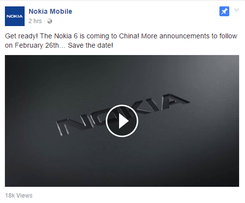 Nokia 6 Available Only In China, Why?