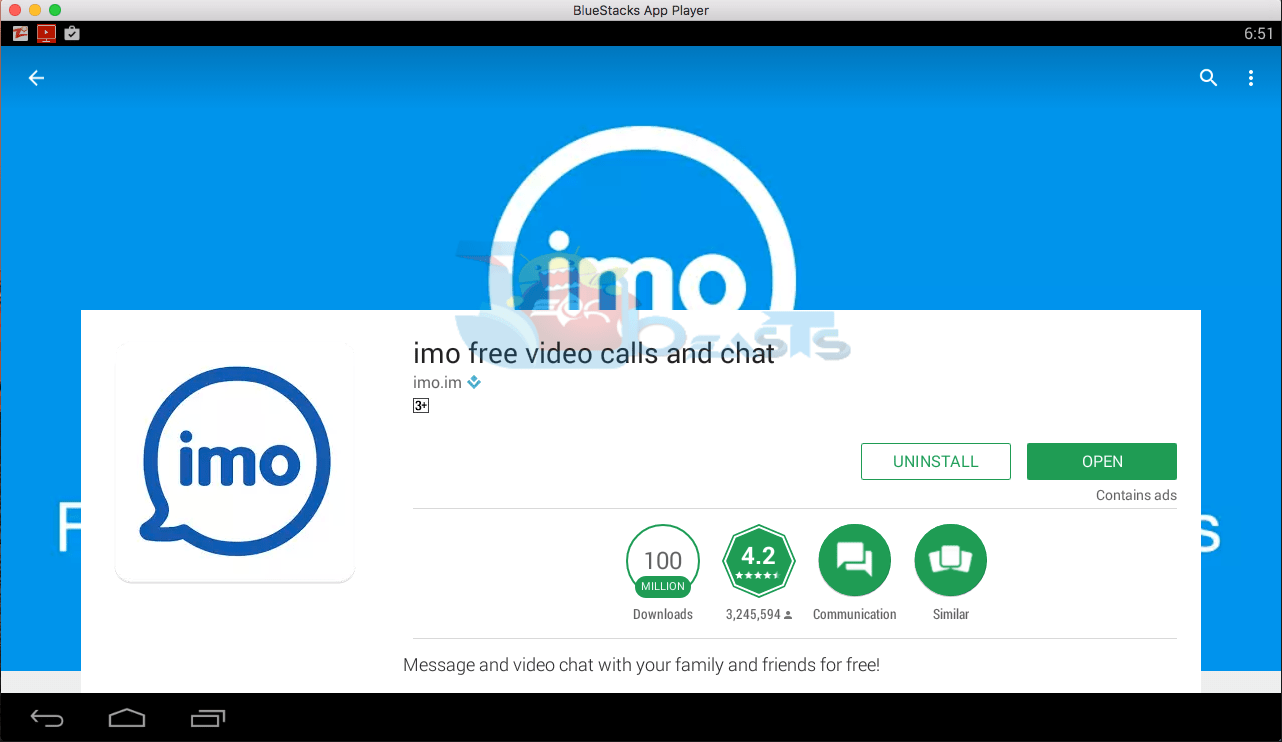Imo for PC Windows (10/8 1/8/7/XP)