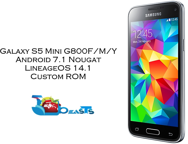 Update Galaxy S5 Mini to Android 7 1 Nougat LineageOS 14 1