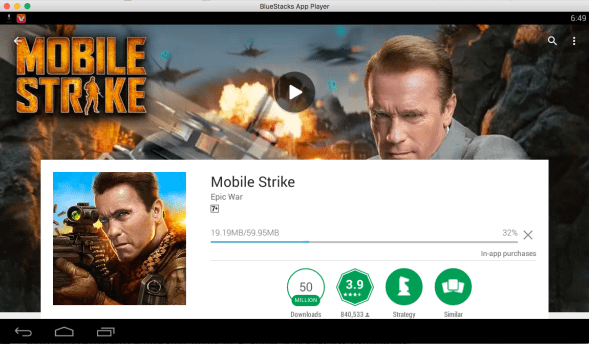 Mobile Strike for Laptop