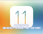 Download iOS 11 & Install