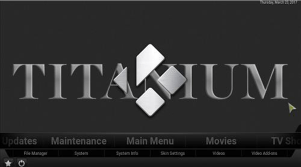 Install Titanium Build Kodi 17.3 Krypton