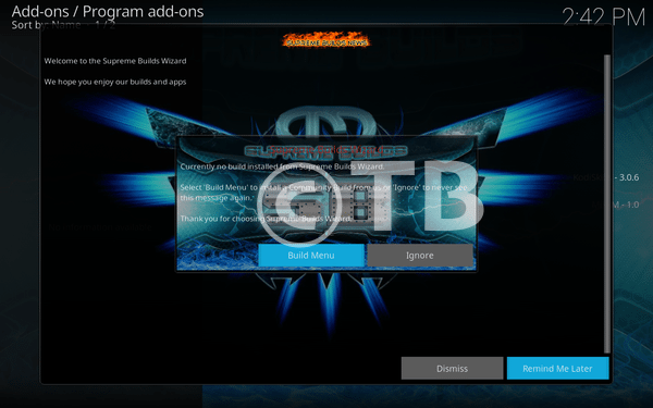 Titanium Build Kodi