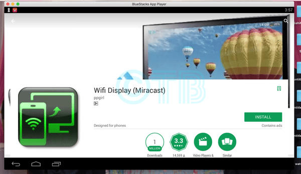 Wifi Display Miracast for PC