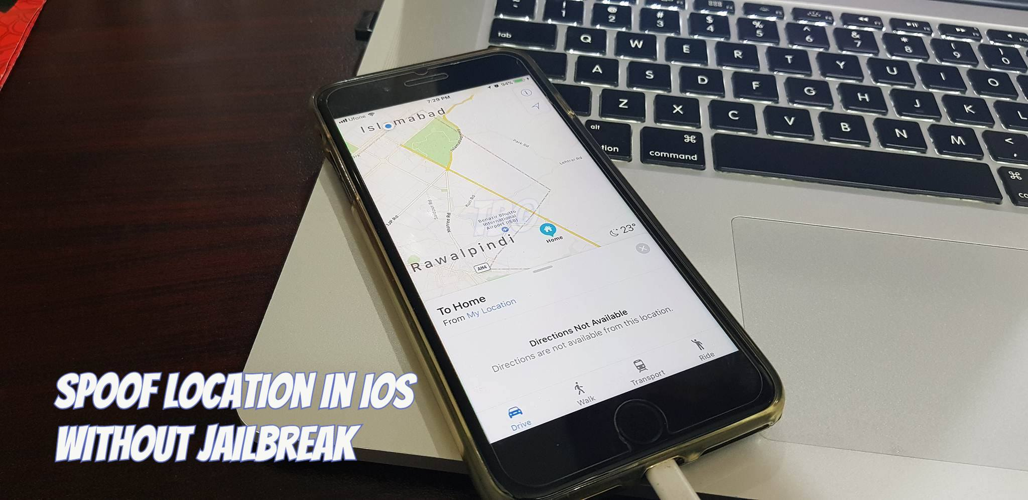 Spoof Location In iOS Without Jailbreak - How To