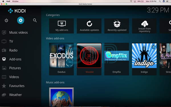 Install Poseidon on Kodi