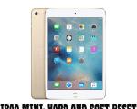 iPad Mini: Hard and Soft Reset