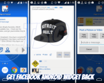 Get Facebook Android Widget Back