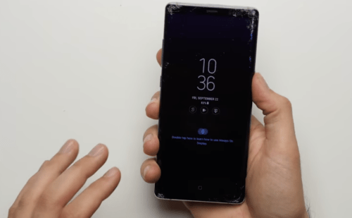 Recover Data from Galaxy Note 8 Broken Screen