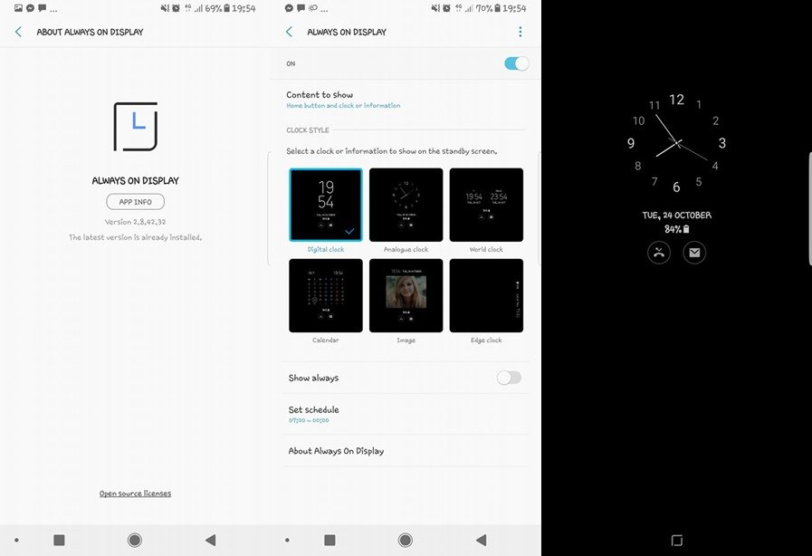 How To Get Always On Display On Samsung Galaxy Android Nougat