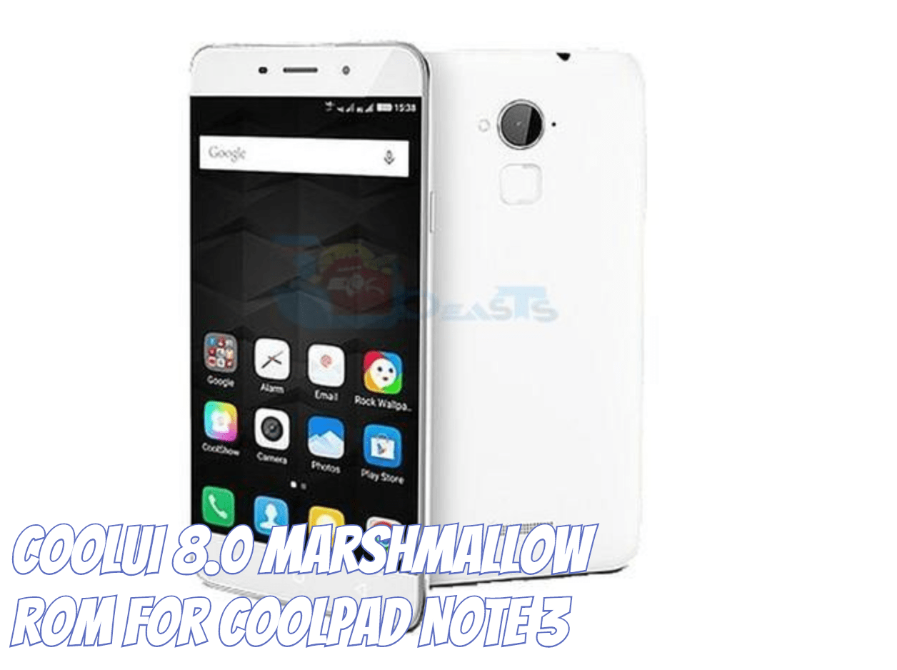 Coolpad Note 3 Marshmallow Update 2107