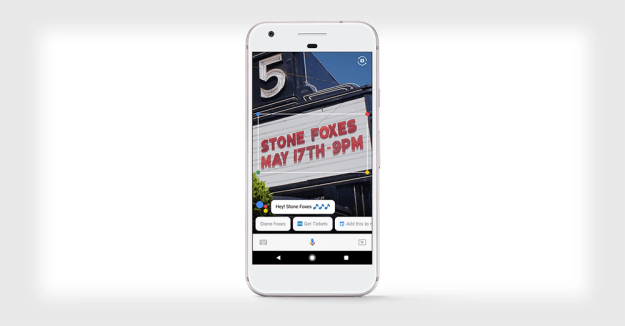 AR shopping might be possible with the Google Lens, according to executive