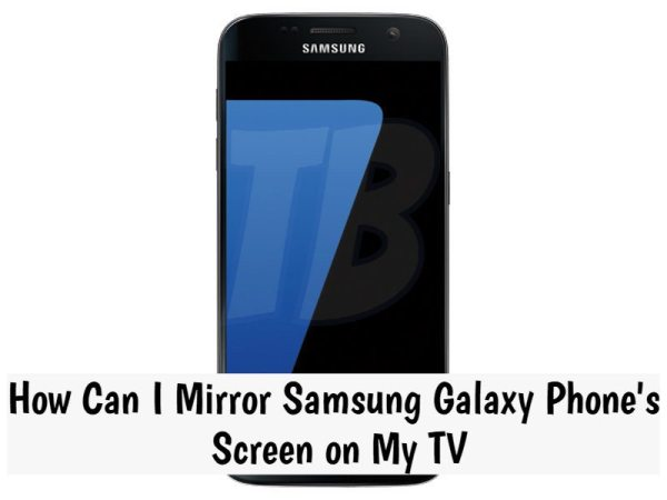 screen mirroring samsung tv