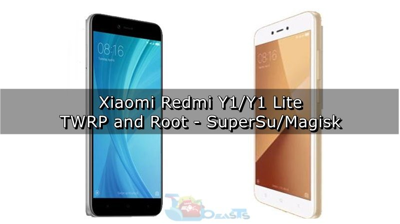Install TWRP and Root Xiaomi Redmi Y1 and Y1 Lite