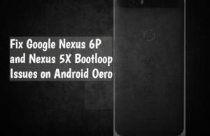 Google Nexus 6P and Nexus 5X bootloop