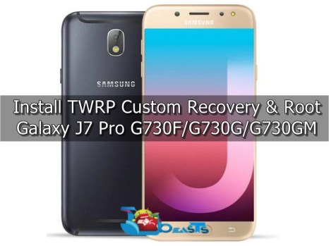 Install TWRP Recovery and Root Galaxy J7 Pro