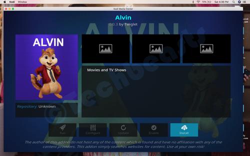 Install Alvin Kodi Add-on: [ Exodus Fork ] | TechBeasts