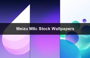 download meizu M8c stock wallpapers