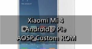 Update Xiaomi Mi 4 to Android 9 Pie