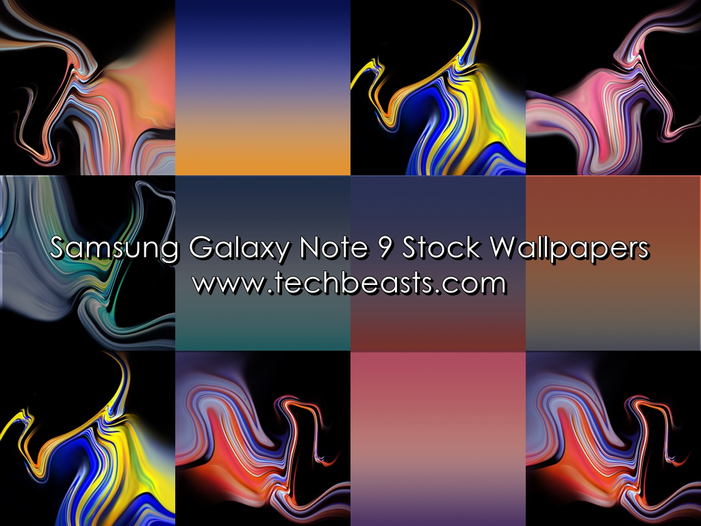Download Samsung Galaxy Note 9 Stock Wallpapers | TechBeasts