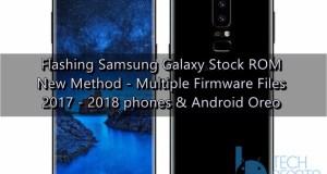 Samsung Galaxy stock ROM
