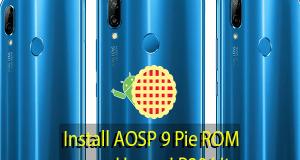 AOSP 9 Pie ROM on Huawei P20 Lite